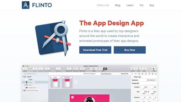Flinto-App-Design-Tool