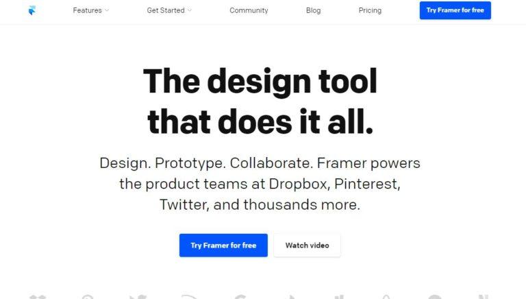 Framer-Mobile-UI-Design-Tool