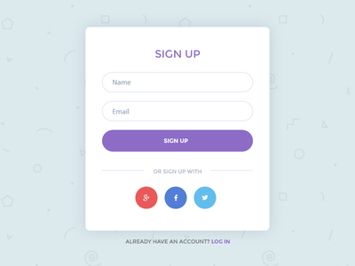 Login-Sign-Up-Form