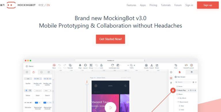 MockingBot-Mobile-App-UI-Design-Tool