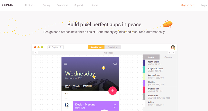 zeplin-mobile-app-design-tool