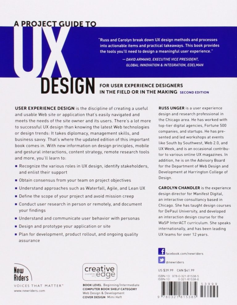 A-Project-Guide-To-UX-Design-Book