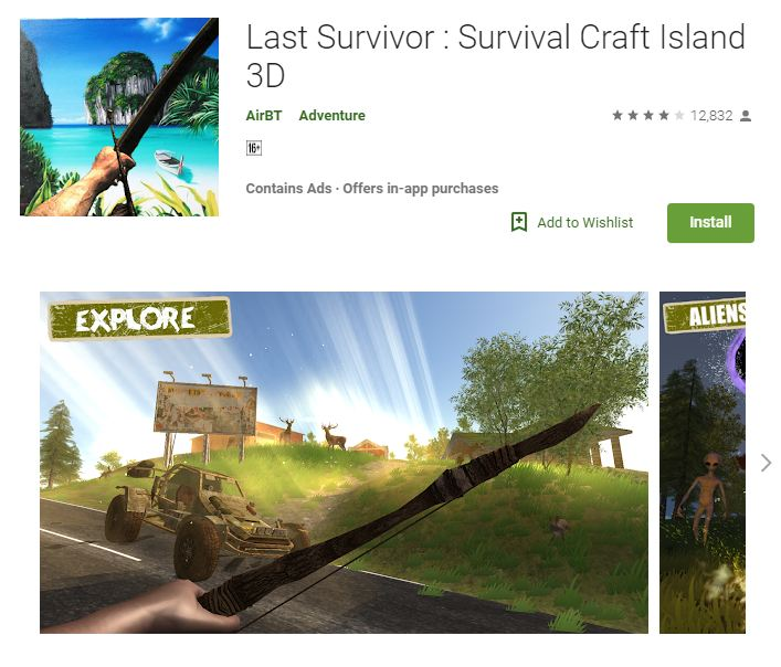 Last-Survivor-Survival-Craft-Island-3D