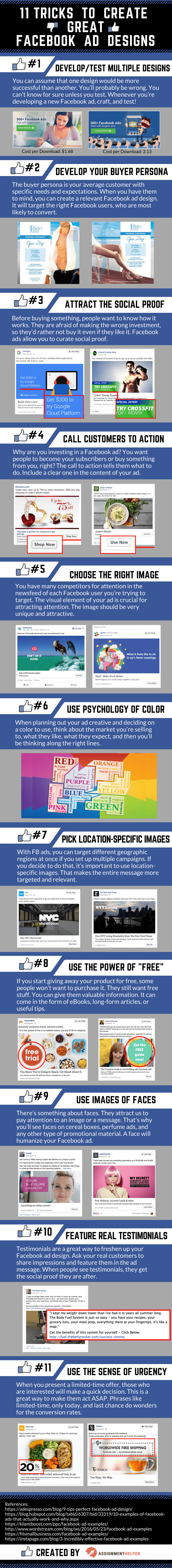 11 TRICKS TO CREATE GREAT FACEBOOK AD DESIGNS