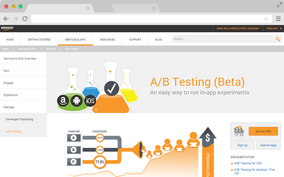 A/B Testing Mobile Apps