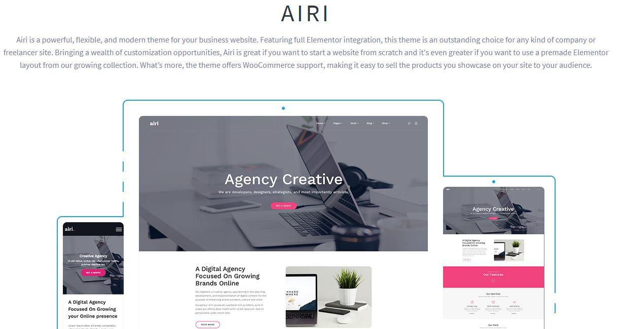 Airi-Wordpress-Theme