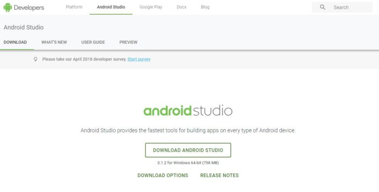 Android-Studio-App-Development-Tool