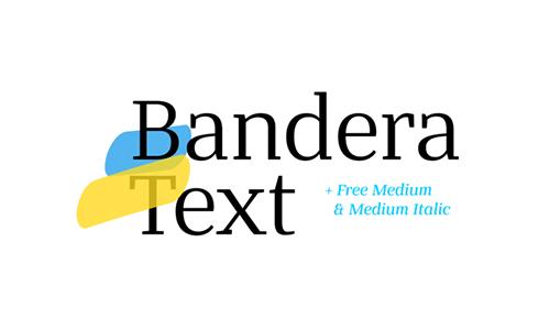 Bandera-Text-Font