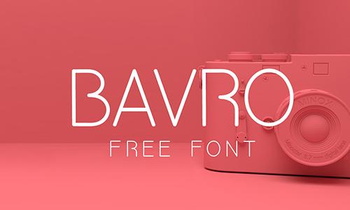 Bavro-font