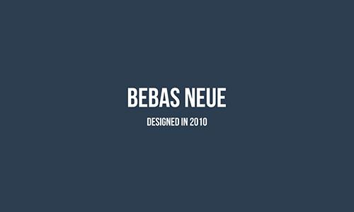 Bebas-Neue-font