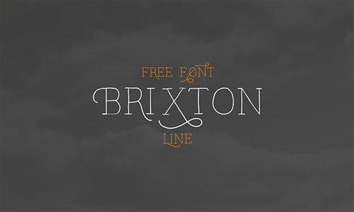 Brixton-line-font