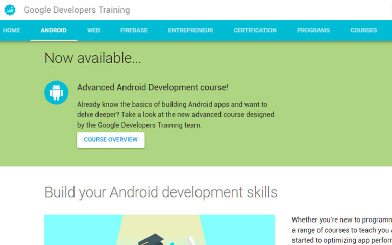 Google-Android-Training