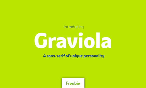 Graviola-font
