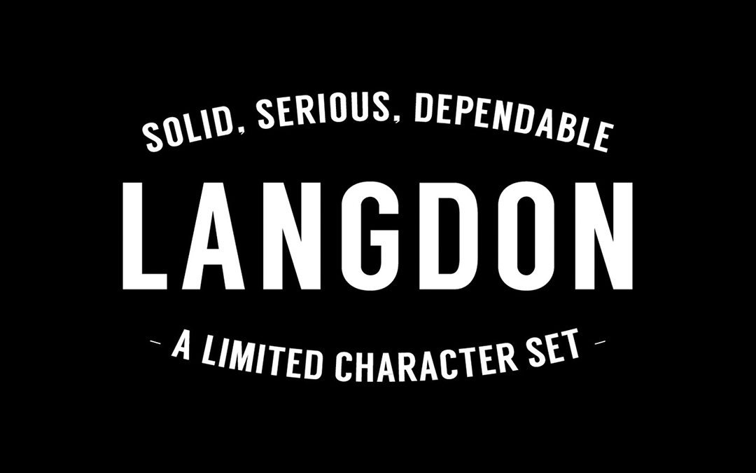 Langdon Font Style