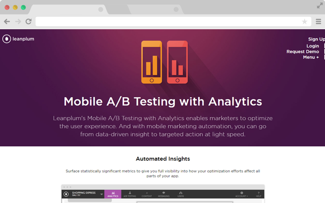 Mobile Apps A/B Testing