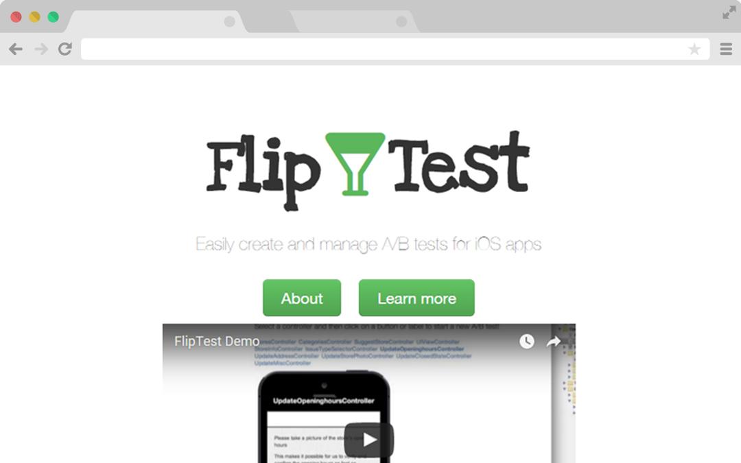 Mobile app A/B testing website