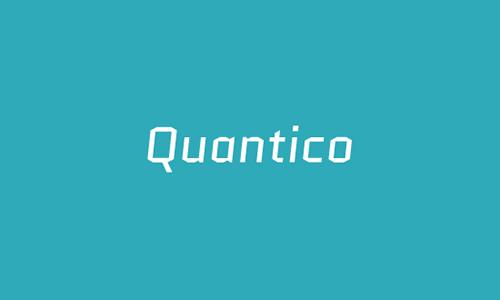 Quantico-font