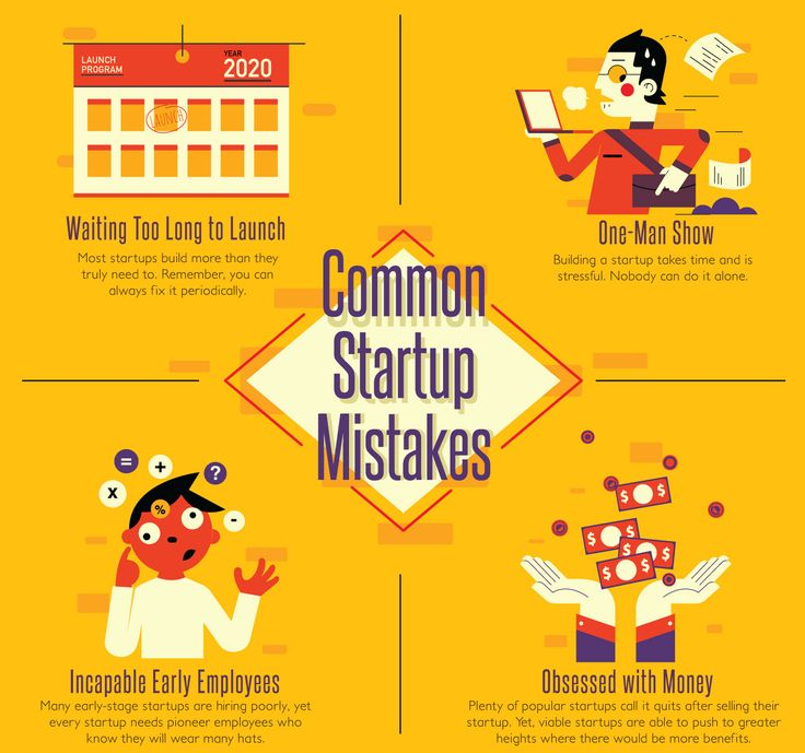 Startup-mistakes