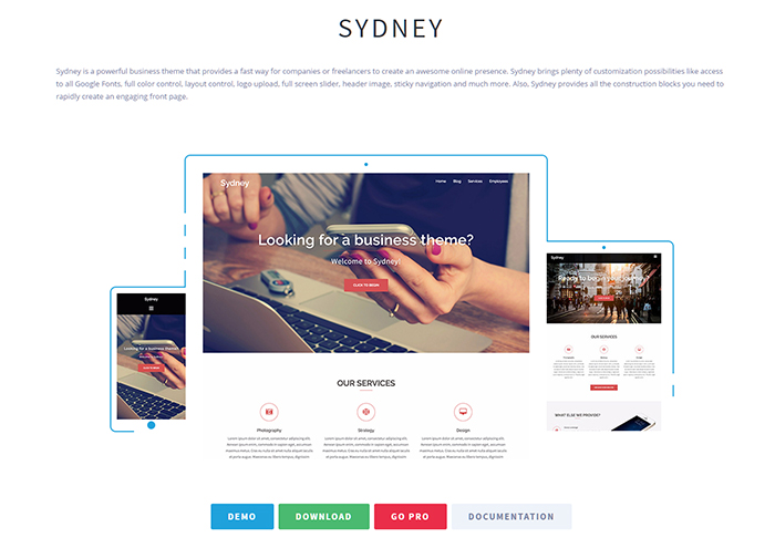 sydney-free-wordpress-theme