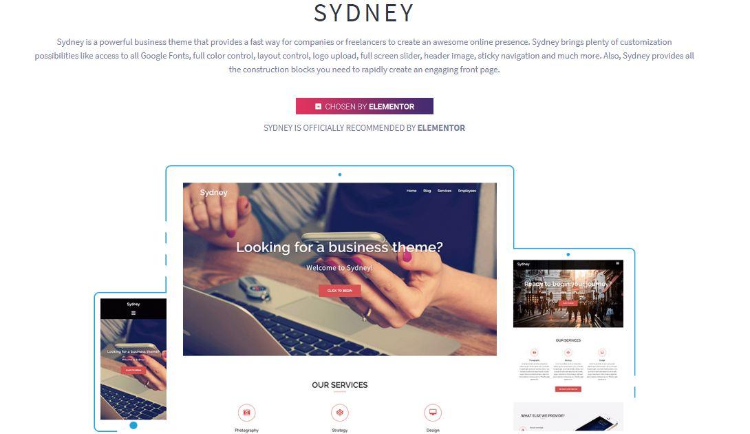 Sydney-Wordpress-Theme