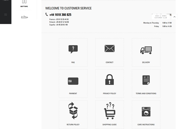 UX in ecommerce website
