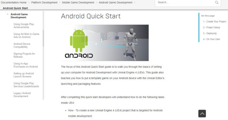 Unreal-Engine-Android-App-Development-Tool