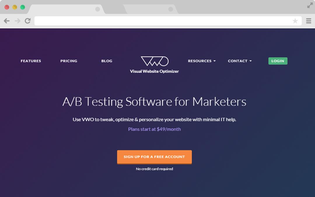 VWO App AB testing