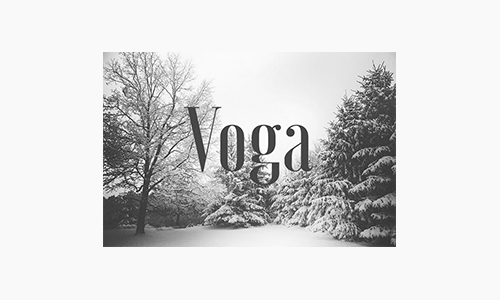 Voga-Font