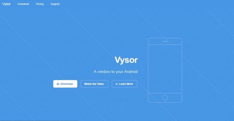 Vysor-App-Development-Tool