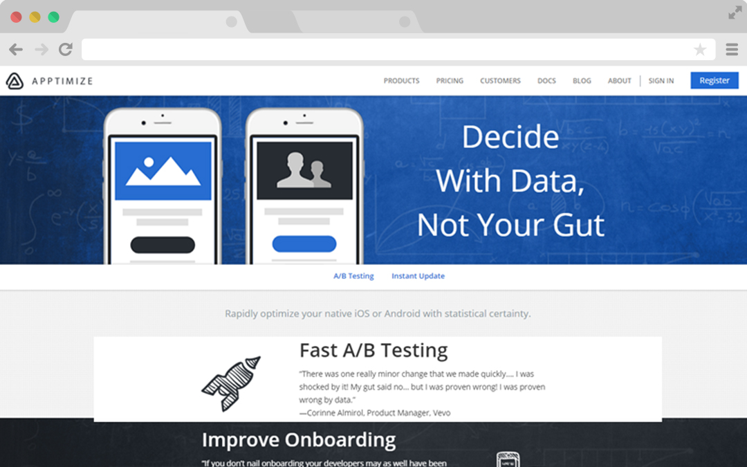 iOS and Android App A/B Testing