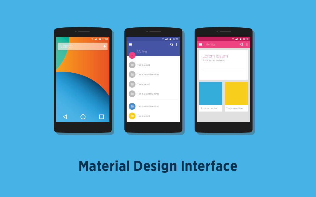 material-design-interface