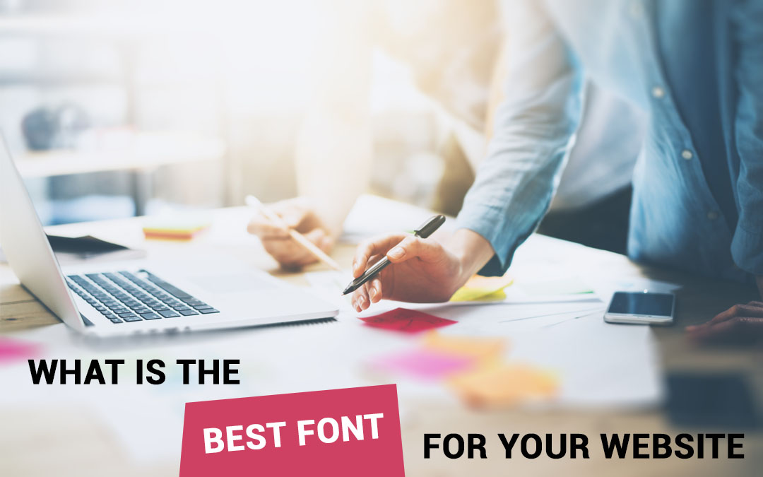 What Is The Best Font For Your Website – Infographics