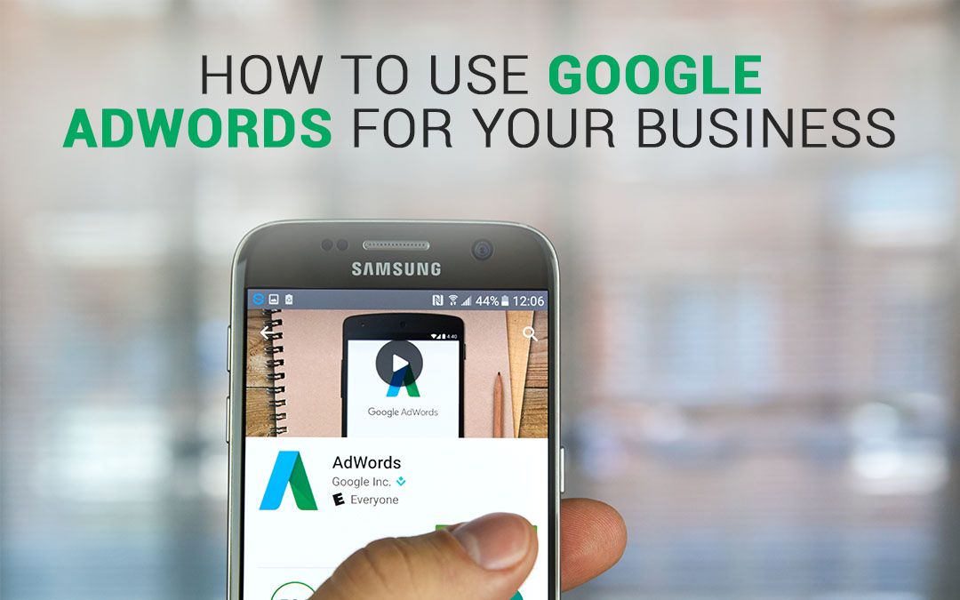 How To Use Google Adwords For Your Business – Infographics