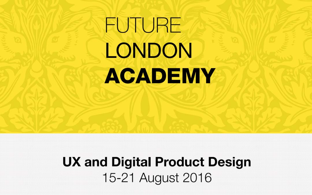 UX AND Digital Design Week with Future London Academy
