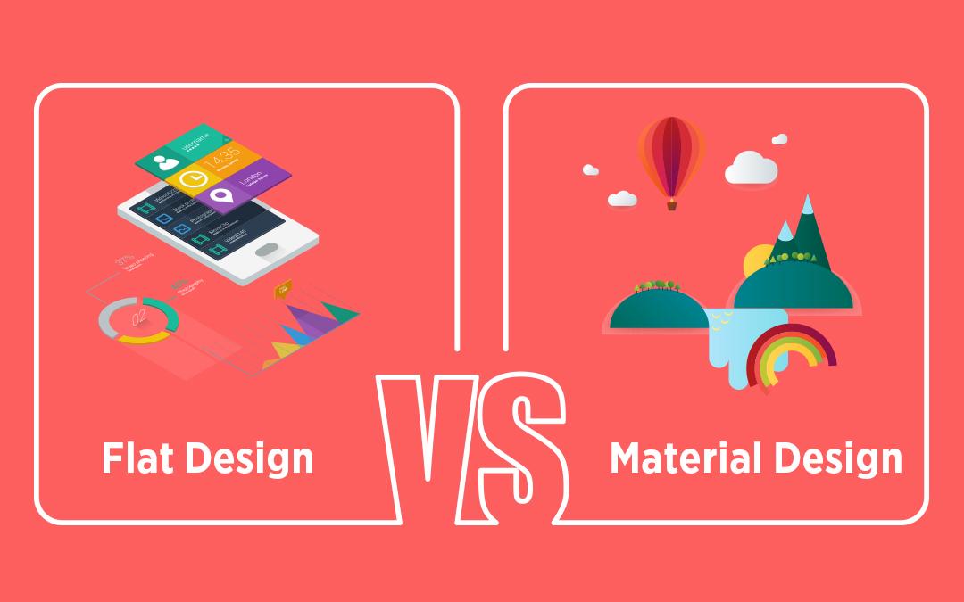 Flat Design Vs Material Design: The Design War