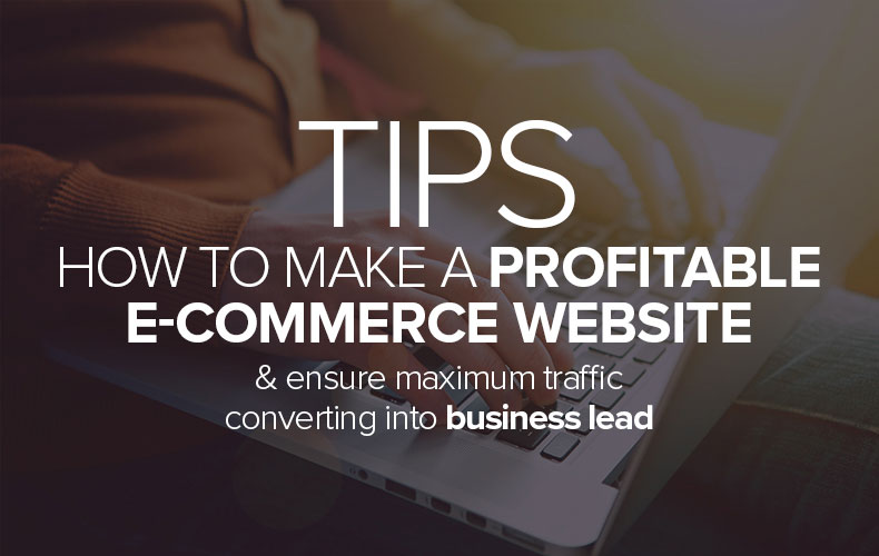 Tips – How To Make a Profitable eCommerce Website & Ensure Maximum Traffic Converting Into Business Lead