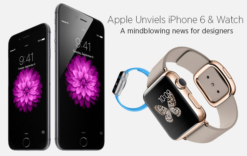 Apple iPhone 6 and Watch Ready to Blow Up Designer's Mind