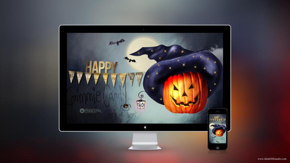 Super Halloween Wallpaper – Think 360 Studio