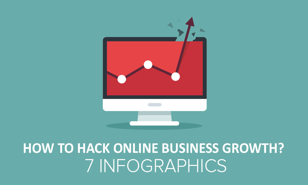 How To Hack Online Business Growth ? 7 Tips In INFOGRAPHICS.