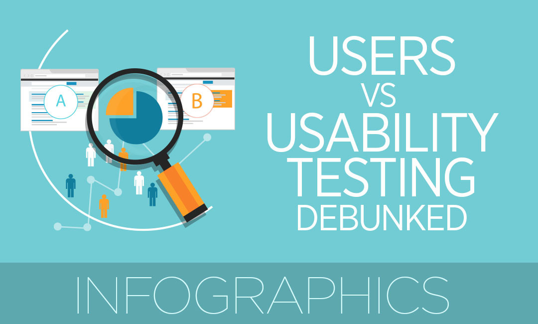 Users Vs Usability Testing Debunked In These INFOGRAPHICS