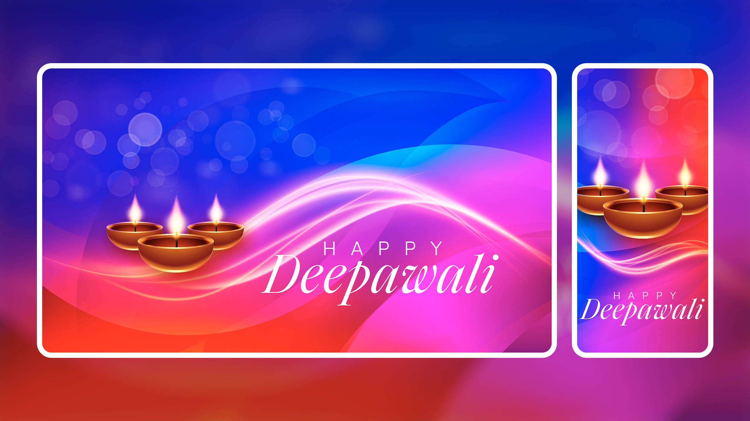 Happy Deepawali Wallpaper for iPhone, Desktop & Wishes, Quotes
