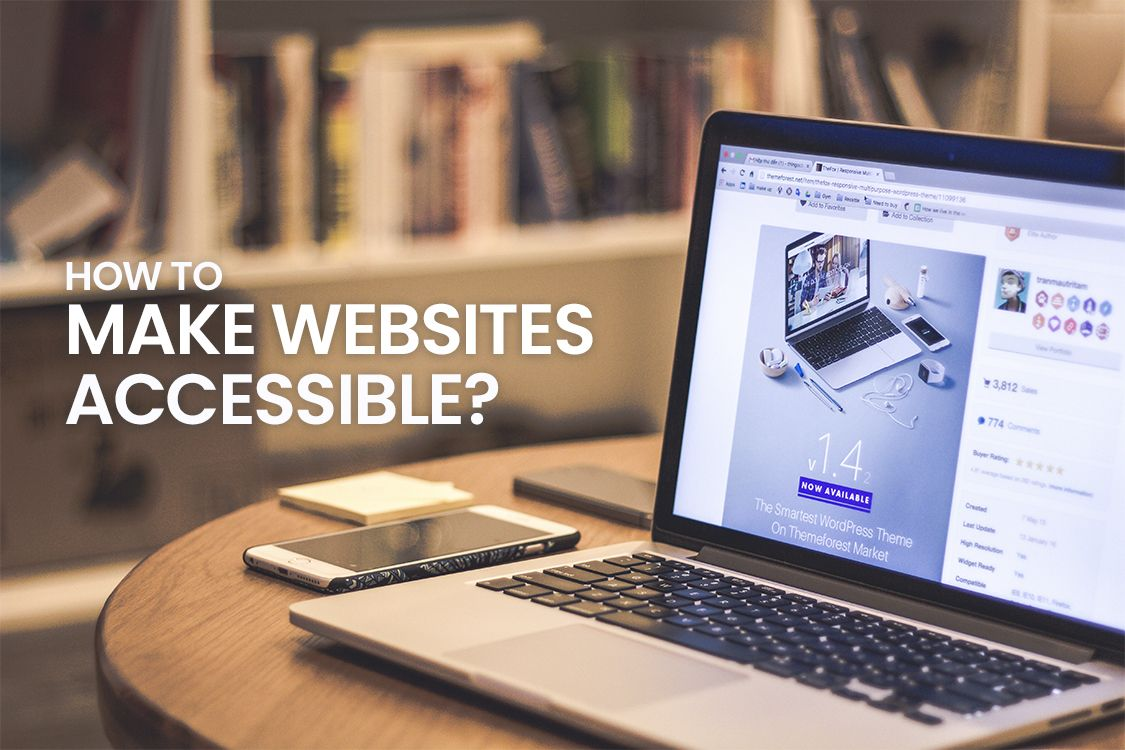 How to make websites accessible as a UI/UX Designer? Tips & Tricks!