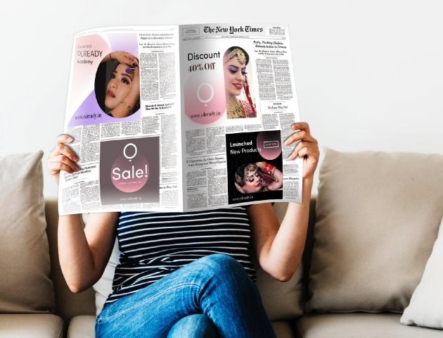 olready print ads