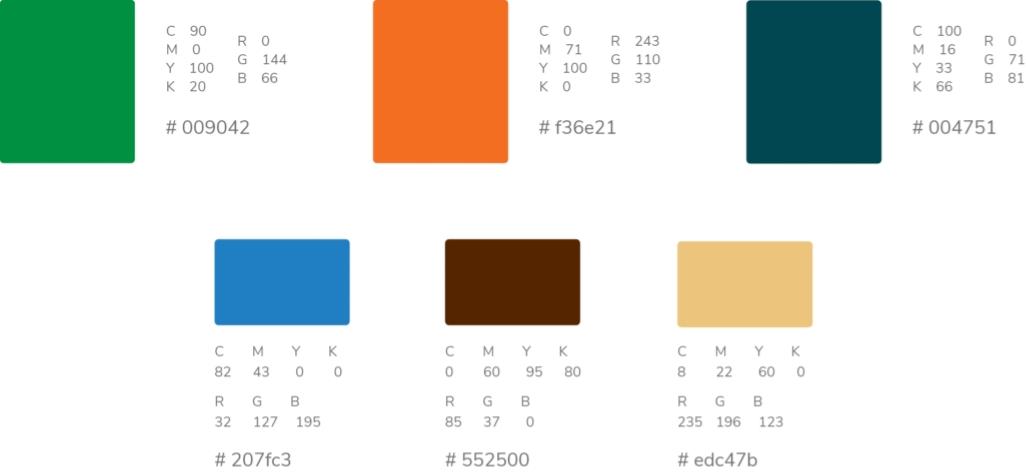 TradersMart Color Palette