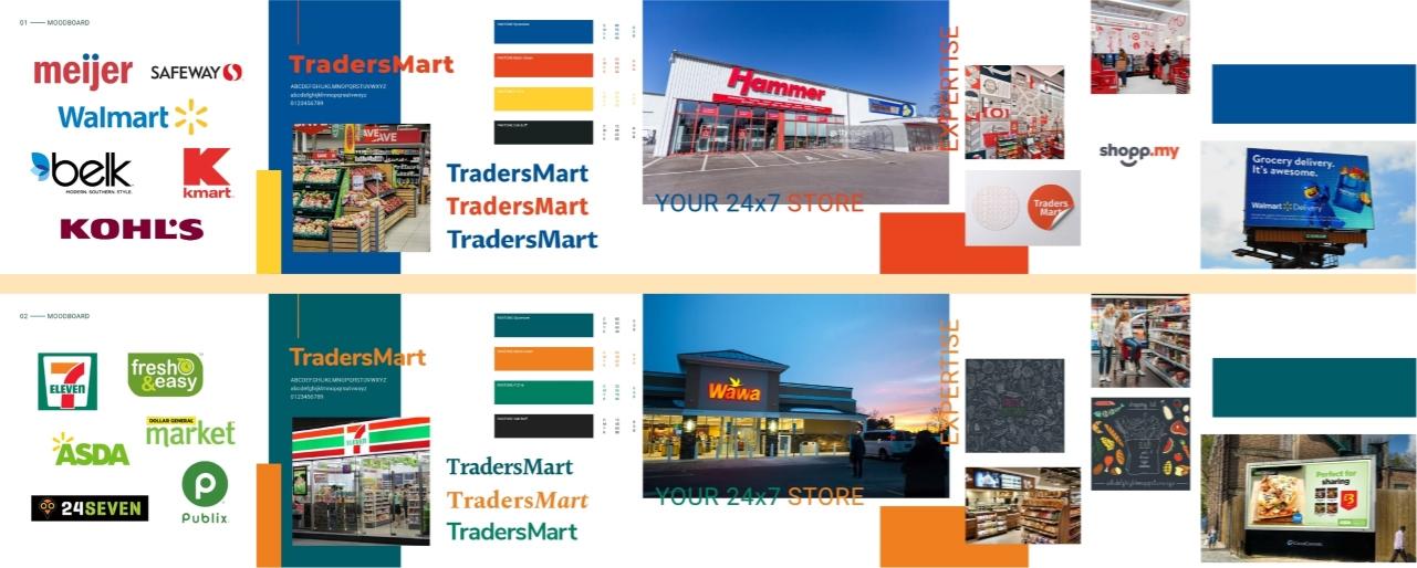 TradersMart Moodboards